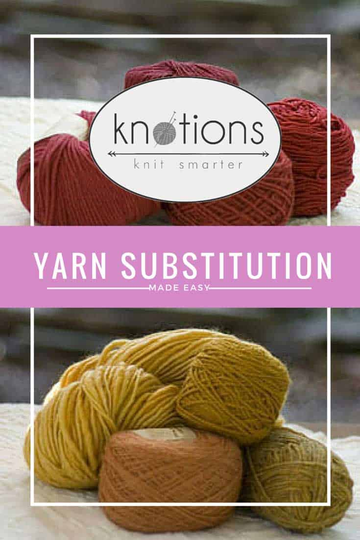 Gauge, ply, weight and fiber all play a part in finding a suitable yarn substitute.