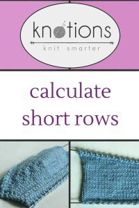 How to Add Short Rows to Your Sweater