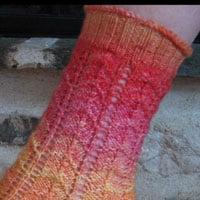 Sunrise Chevron Socks