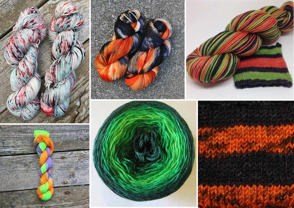 Autumn and Halloween Yarn