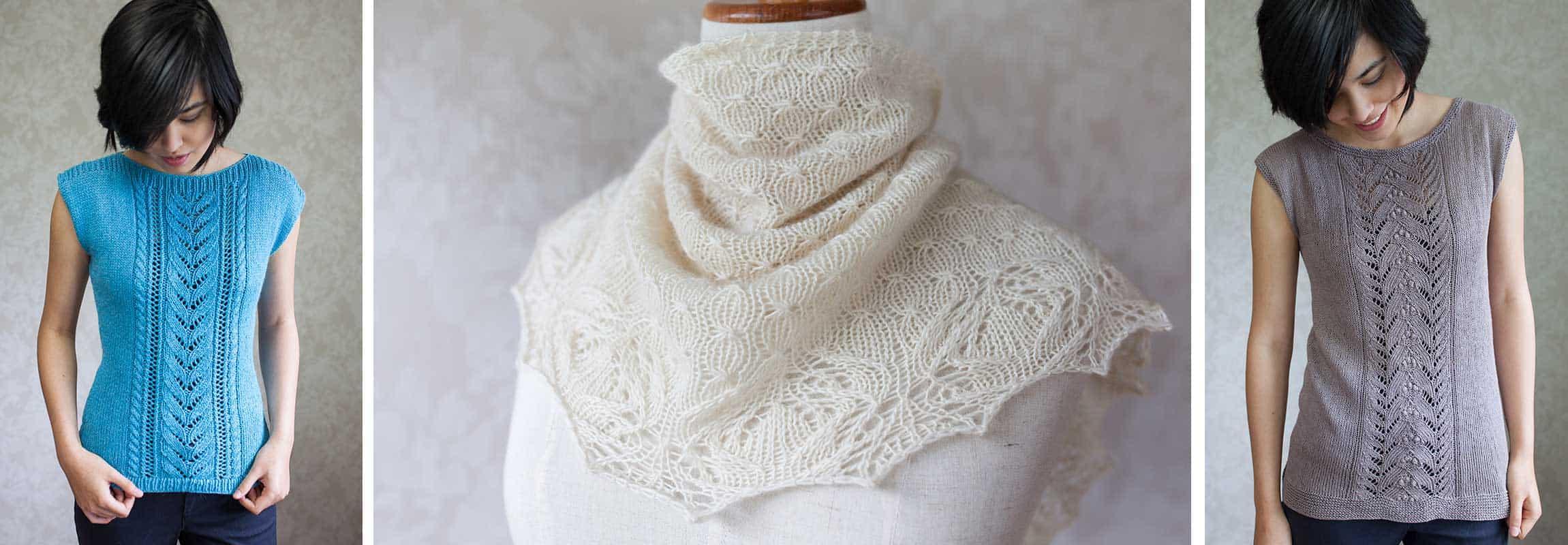 aroha tops and shawl