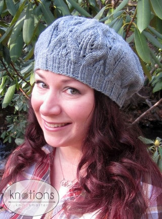 Sidhe Beret By Elizabeth Helmich Knotions