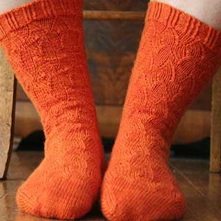 Fire Socks by Renee Anne