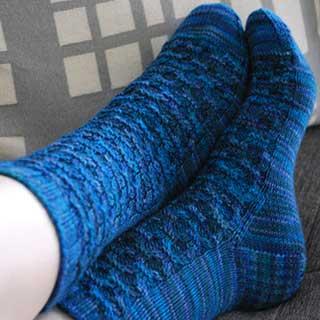 Lemino Socks by Sarah Jordan