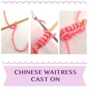 Chinese Waitress Cast On