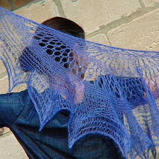 Hazy Days shawl by Elizabeth Felgate