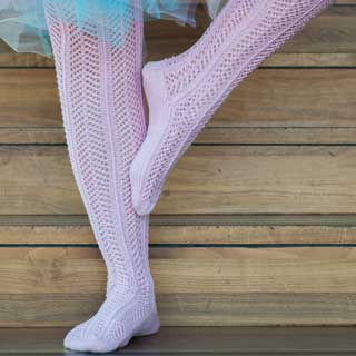 Pia Ballerina stockings by Senja Jarva