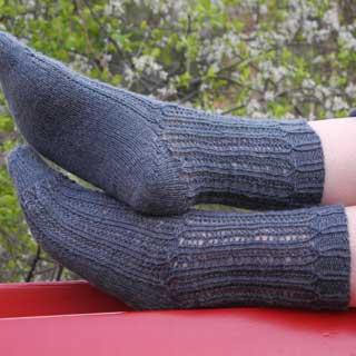 Raskob socks by Sabine Riefler