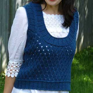 Fence Vest by Maria Leigh