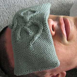 Om Eye Pillow by Susan Dittrich
