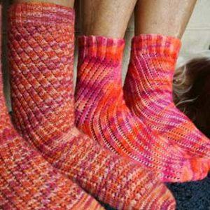 Vortical Socks by Phoenix Bess