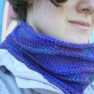Wave Cowls by Rebecca Hatcher