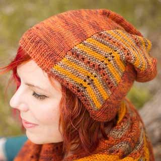 Autumn Spice Hat by Carolyn Macpherson