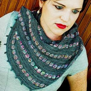 City Streets Shawl by Christina Wall