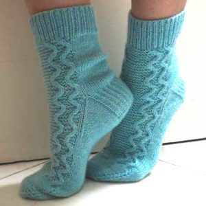 High Tide Socks by Solène Le Roux