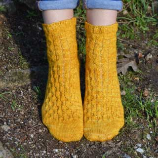Outono Sock by Trelly Hernández