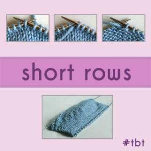 Short Rows: Throwback Thursday