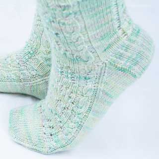 Area of Effect Socks by Tisserin Coquet