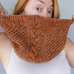 Hive Mind Cowl by Erika Wine