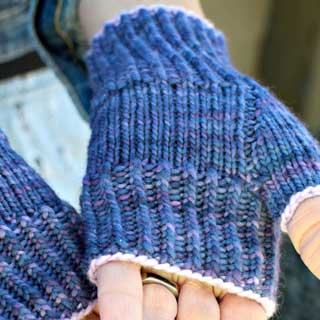 Marine Layer Mitts by Ranée Mueller