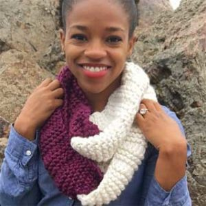 Snuggly Loops Cowl by Whitney Goldsberry
