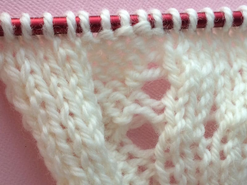Tutorial Yarn Overs And Eyelets Knotions