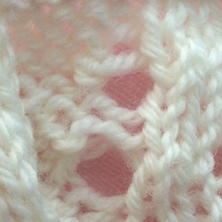 Tutorial: Yarn Overs and Eyelets