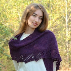 Beatrice's Retort Shawl by Tabitha's Heart