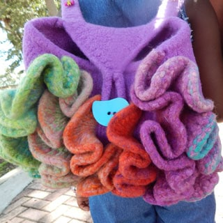 ChaCha Felted Bag