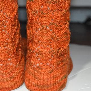 Copper Penny Sock