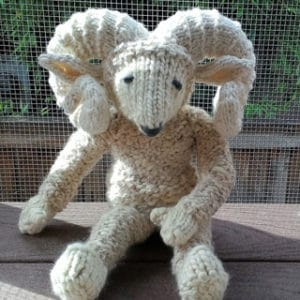 Eunice Ewe Stuffed Animal