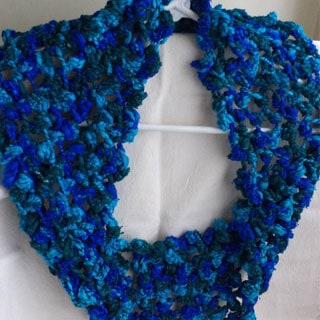 Knitted Knot Cowl