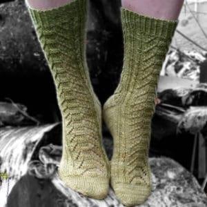 Tiveden Sock by Suzanne Sjögren