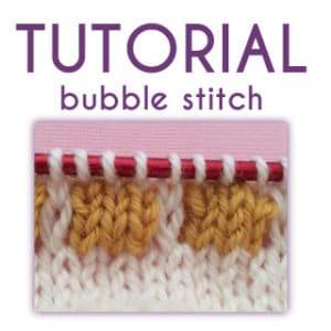 Tutorial: Bubble Stitch