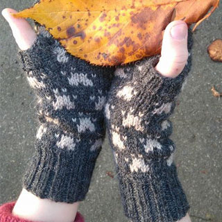 Paw Prints – Mitts