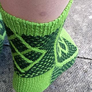 Kuusevõrsed Socks