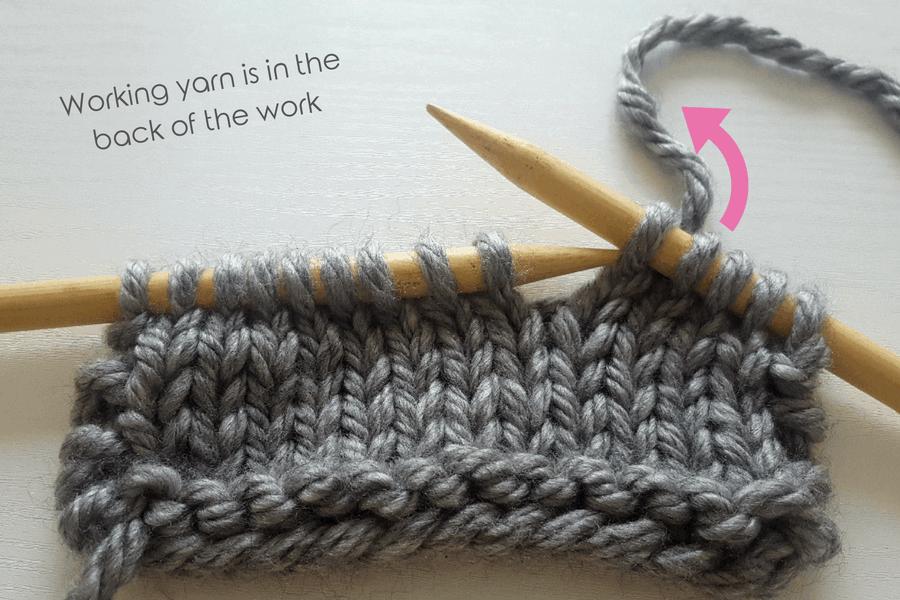Knitting Yrn K2tog : Lace knitting knotions