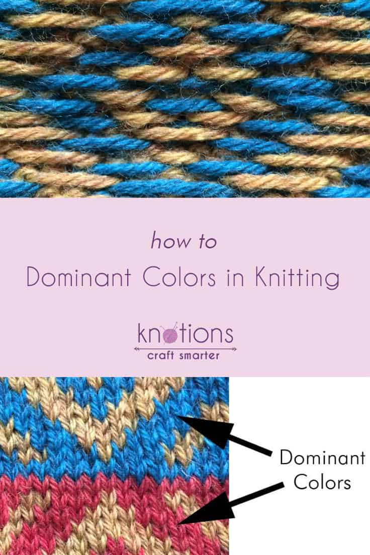 Tutorial: Dominant Colors in Stranded Knitting