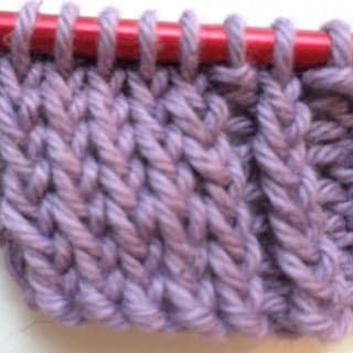 Tutorial: Knit Thru Back Loop (ktbl)