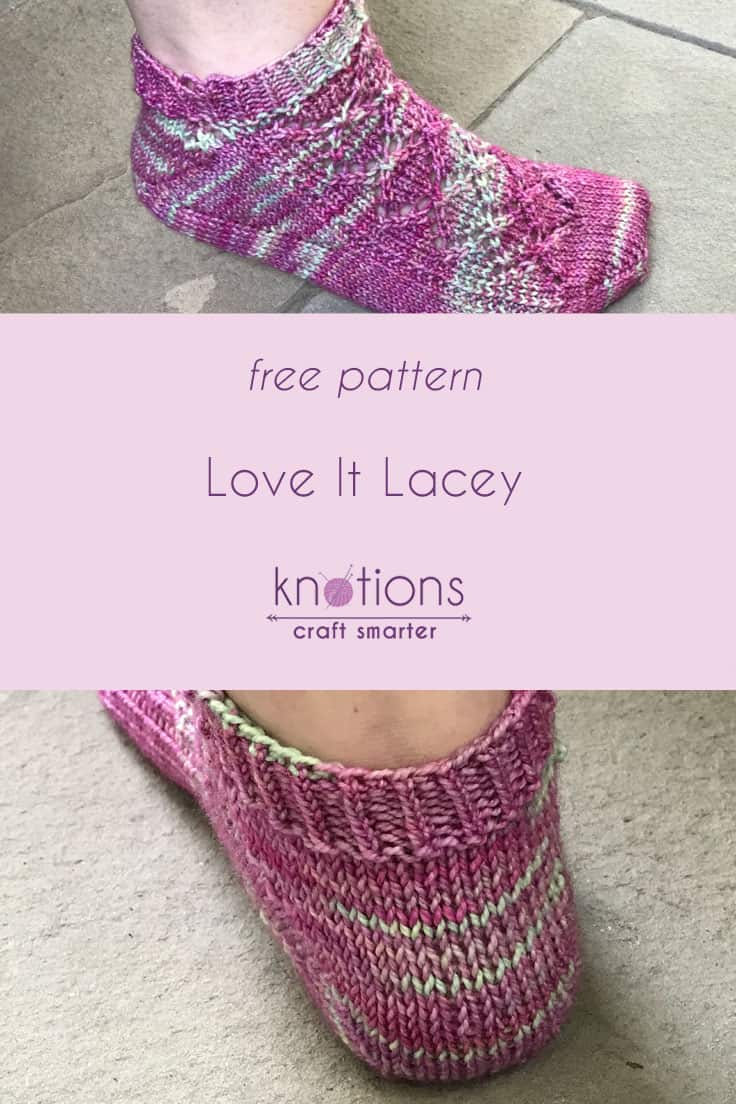 Free Pattern: Love It Lacey Anklets