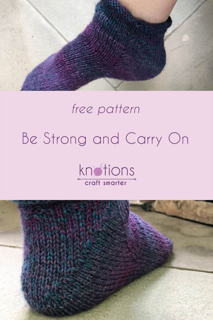 Free Pattern: Be Strong and Carry On