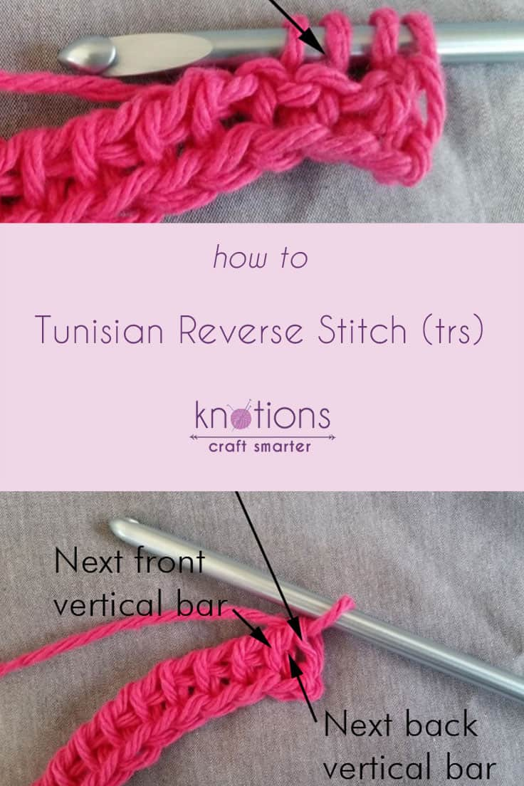 Tutorial: Tunisian Reverse Stitch