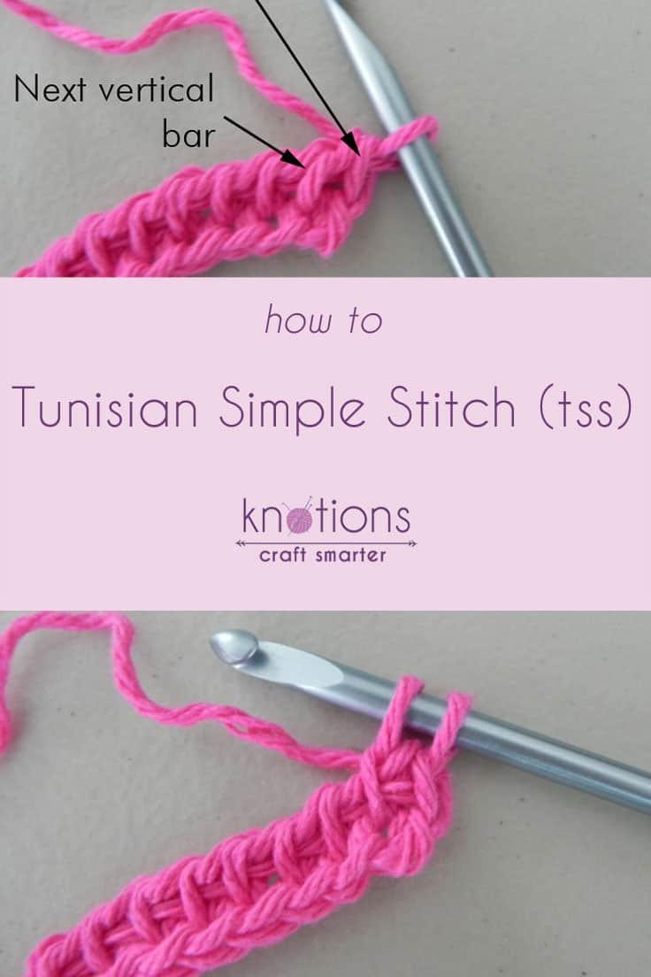 Tutorial: Tunisian Simple Stitch