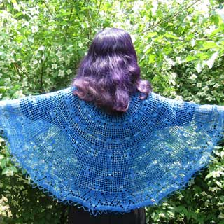 Twined Vines Shawl