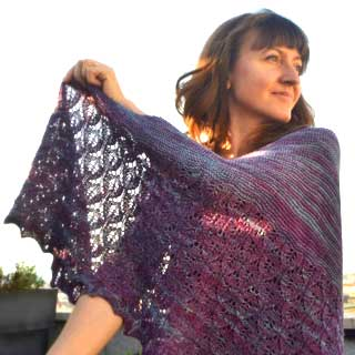 Sunset Lights Shawl