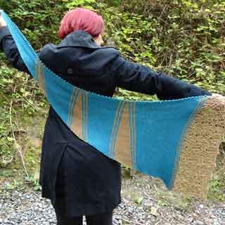 Autumn Cornucopia Shawl