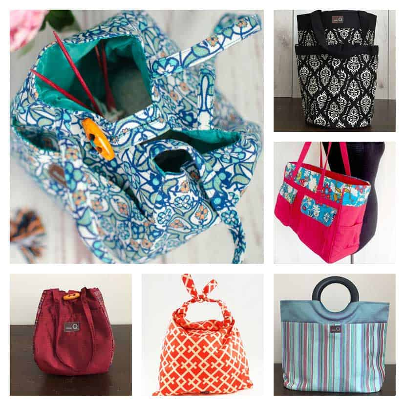 A sampling of Della Q Bags