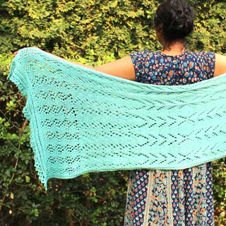 A Time of Rain Shawl