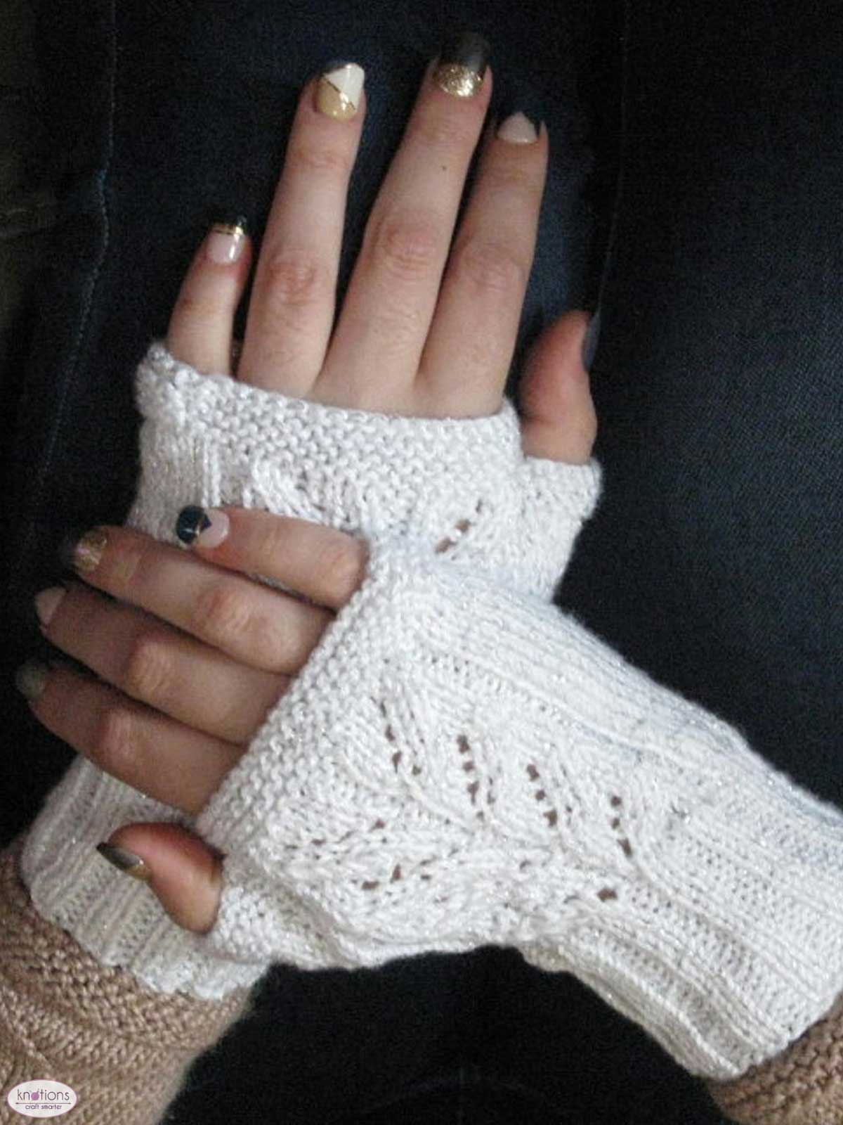 For the Future Bride Mitts - knotions