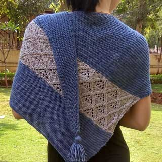 Diamante Shawl